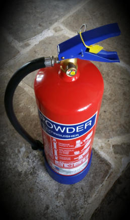 Darlington Powder Extinguisher
